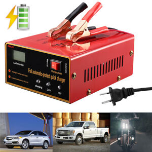 Maintenance free Battery Charger 12v 24v 10a 140w Output For Electric Car Best