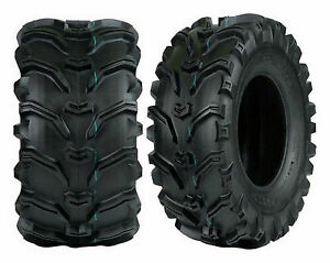 TWO Vee 22x11-8 22x11.00-8  189 Grizzly ATV Tubeless Tires Heavy Duty 6ply Rated