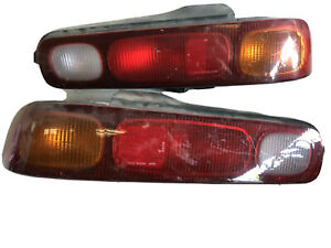 1994 1995 1996 1997 Acura Integra Tail Lights Red Left Right Side Coupe Oem