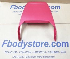 1973 81 Trans Am Firebird Deluxe Seat Back Panel Gto Le Mans Grand Prix Red