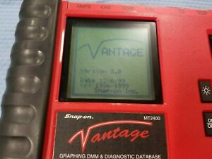 Snap On Vantage Mt2400 Version 3