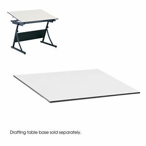 Drafting Table Top 60 x37 1 2 x3 4 White Saf3948