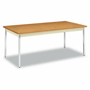 Hon Utility Table 72 w X 36 d Rectangle Top 72 Table Top Length X 36
