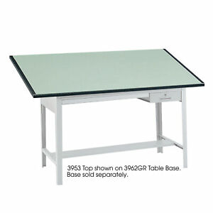 Drafting Table Top 72 x37 1 2 x1 Green Saf3953