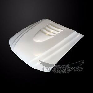 1999 2004 Ford Mustang Type 1 Style Functional Vented Cooling Hood By Amerihood