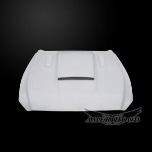 2015 2017 Ford Mustang Sms Style Functional Heat Extraction Hood By Amerihood