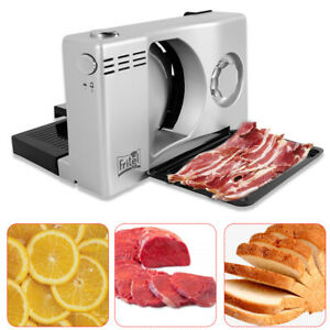 Electric Meat Slicer Bread Fruit Food Cheese Cutter Machine Cut 1 15mm Thickness