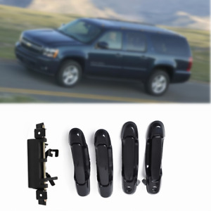 Car Door Handles Outside Front Rear Tailgate 5pcs Fit For 98 03 Toyota Sienna