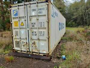 40ft High Cube Shipping Container Rosburg Wa 98643