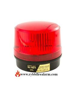 Amseco Sl 401 Red Strobe Light Free Shipping The Same Business Day