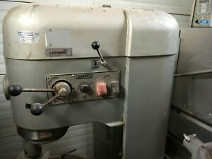 Hobart 80 Quart 3 Phase Bakery Or Pizza Shop Mixer With Bowl M 802 Auto Lift