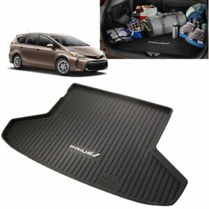 2012 2017 Prius V All weather Cargo Tray Trunk Mat Genuine Toyota Pt908 47126