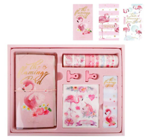Personal Diary Planner Notebook Diy With Washi Tape Paper Clip Ticker Gift Box