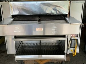 Marshall Conveyor Autobroil With Touchscreen Marshall High Speed Bun Toaster