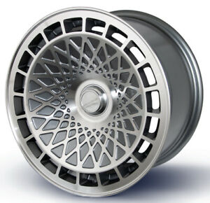Turbofan Style 15 X 8 4x100mm 25mm Miata Set Of 4