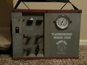 Fluoro tech Fluoromizer 3500 Oilless Refrigerant Recovery Machine Unit System