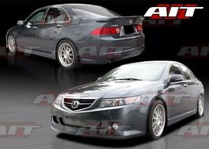 2004 2005 Acura Tsx Ks Style Full Body Kit By Ait Racing Front Rear Sides