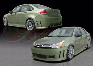 2008 2011 Ford Focus Max Style Full Body Kit By Ait Racing Front rear sides