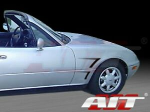 For 1990 1997 Mazda Miata D1 Style Front Fenders By Ait Racing