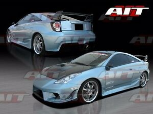 For 2000 2005 Toyota Celica Bmx Style Full Body Kit With Fiberglass Canards