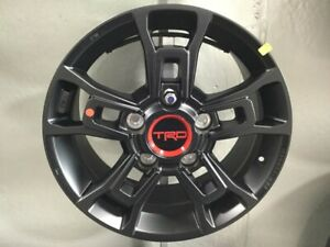 Genuine Toyota Trd Pro Tundra And Sequoia Bbs Matte Black Forged Wheel Pt960 342