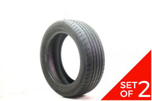 Set Of 2 Used 225 55r18 Dextero Touring Dtr1 98h 7 32