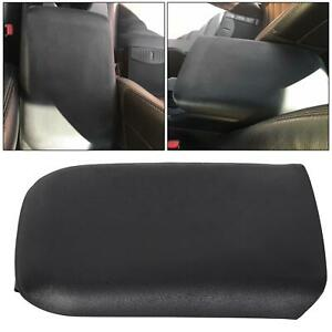 Black Center Console Armrest Lid Cover For 2005 2009 Ford Mustang 5r3z6306024aac