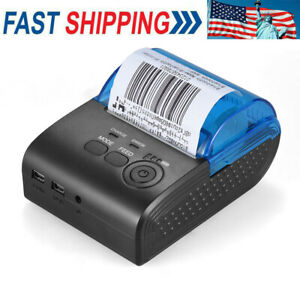 58mm Usb Wireless Thermal Printer Pos Bt4 0 Receipt Ticket For Ios Android G4s5