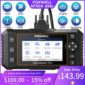 Foxwell Obd2 Scanner Engine Transmission Srs Abs Code Reader Car Diagnostic Tool