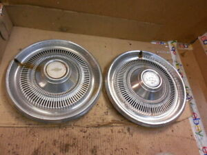 74 75 Chevy Impala 15 Hubcap Wheel Cover Set Of 2