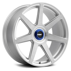 Tsw Evo T Rim 20x9 5x112 Offset 20 Silver W Brushed Face Quantity Of 1