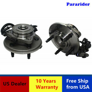 2 New Front Wheel Bearing Hub Assemblie 515050 W abs Sensors Plug Wires For02 05