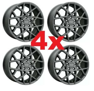 17 Wheels Rims Aluminum Alloy Gunmetal 5x110