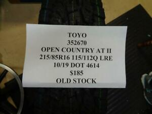 1 Nos Toyo Open Country At Ii 215 85 16 115 112q Lre Tire Wo Label 352670 Q9