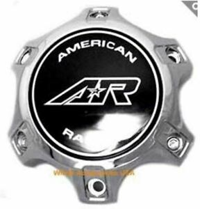 American Racing Chrome Bolt On 6x135 Ford Only Center Cap Ar889 Ar890 Cara1406ch