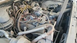 64 Oldsmobile Dynamic 88 Engine With Auto Transmission Complete Lift Out