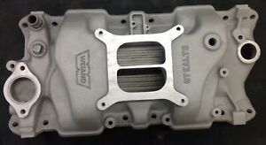 Weiand Stealth Small Block Chevy Intake Manifold 283 327 350 383 8016