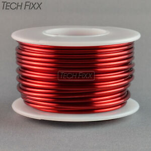 Magnet Wire 14 Gauge Awg Enameled Copper 40 Feet Coil Winding And Crafts Red