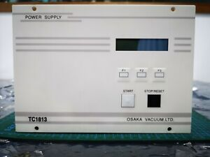Osaka Vacuum Tc1813 Turbo Pump Power Supply