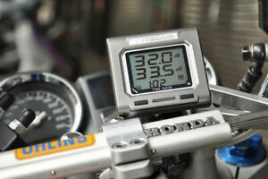 Tyredog Tpms 2 Wheels Motorcycle Tyre Pressure Wireless Monitor System Td 4100a