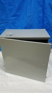 Milbank 242412 tc3r wall mount Enclosure 24 X 24 X 12 Outside Rated Hinged