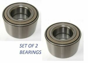 Front Wheel Hub Bearing For Honda Civic Dx Lx Cx Hx 1992 2000 Without Abs Pair