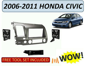 New Replacement Dash Kit For 2006 2011 Honda Civic Taupe Finish