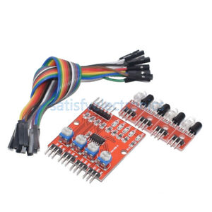4 channel Four Infrared Detector Tracked Photoelectricity Sensor For Smart Car