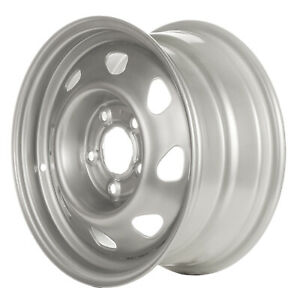 15 Silver Steel Wheel 1995 2000 Chevrolet S10 Blazer 5040
