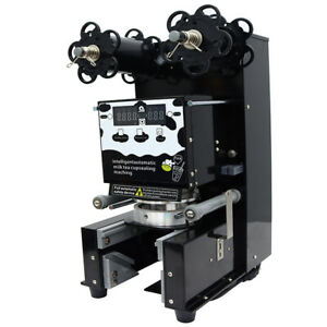 Techtongda Fully Automatic Cup Sealing Machine With Safety Board 110v