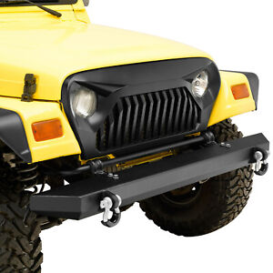 Tj Main Front Grille Overlay Grill Cover Fits For 97 06 Jeep Wrangler