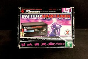 Schumacher Automatic Battery Charger Maintainer 6v 12v Cars Boat Powered 1 5a