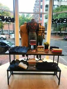 Retail Mannequins Tables Rolling Racks Stands Full Retail Store Package