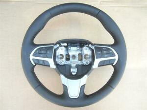 2015 2016 Chrysler 300 Steering Wheel Black Leather With Cruise Control Phone
